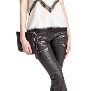 The Kooples shiny leather leggings